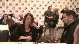 Chyler Leigh & David Harewood interview at San Diego Comic-Con 2015