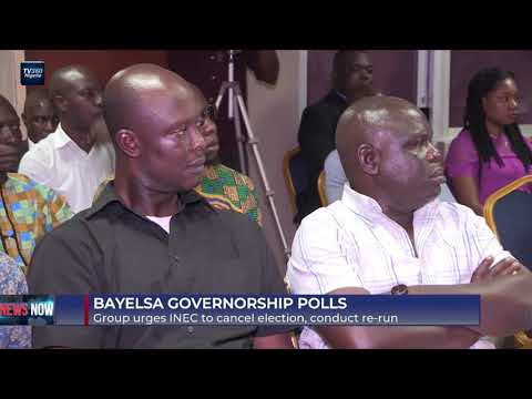 Group urges INEC to cancel Bayelsa governorship election, conduct re-run