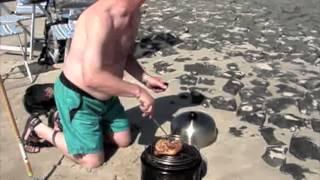 2013 07 18 BBQ op de Hondsbossche zeewering