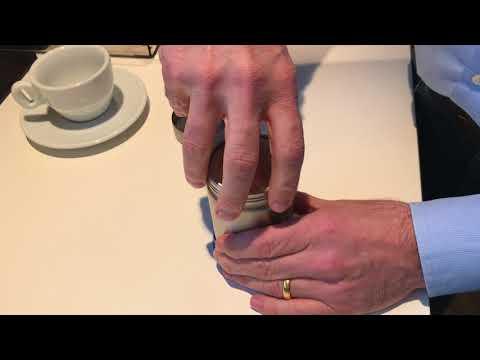 Motta Dekorierstreuer für kleine Latte Art Muster auf Cappuccino und Latte Macchiato