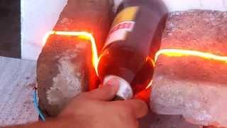 como hacer vasos con botellas de vidrios