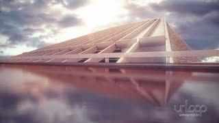 Construção de Brasília em animação 3D - by Unloop