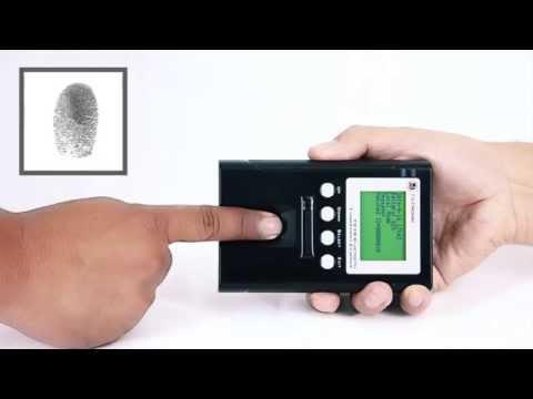 Bioidentidad RENIEC lector biométrico dactilar Perú homologado (certificados FBI IBIS WSQ 512)