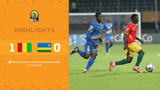 CHAN 2020 | Quart de Finale :  Guinée 1-0 Rwanda