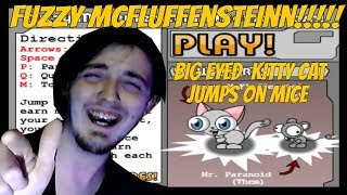 CUTE BIG EYED KITTY DOES WHAT!?!?!!? Fuzzy McFluffenstein by Crazy Monkey games