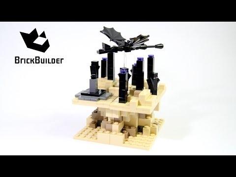 Vidéo LEGO Minecraft 21107 : Micro monde - La fin