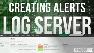 Setting up alerts in Nagios Log Server 2