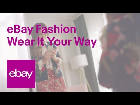Ebay Ad Ebay Fashion Wear It Your Way Pop Culture References 2018 Television Commercial Pop Culture Cross References And Connections Via Popisms
