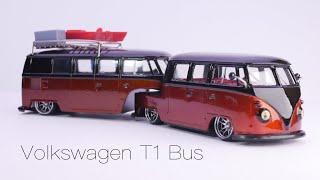 Volkswagen T1 Camper Trailer Diecast