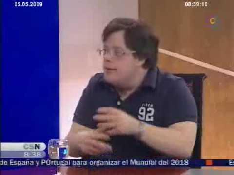 Ver vídeoSíndrome de Down: Pablo Pineda en ''La entrevista''