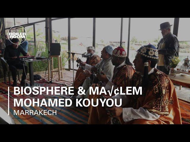 Biosphere & Maâlem Mohamed Kouyou Boiler Room Marrakech Live