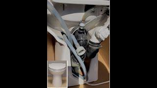 Saniflo repair SANICOMPACT 43 (Eng subs) fix blocked