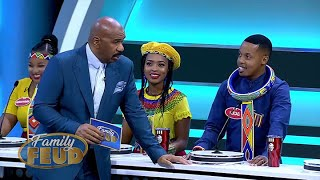 """Steve asks where the """"IN DA BELLY"""" are from? He means the Ndebele tribe! 