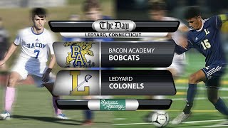 Watch live: Bacon Academy at Ledyard boys' soccer