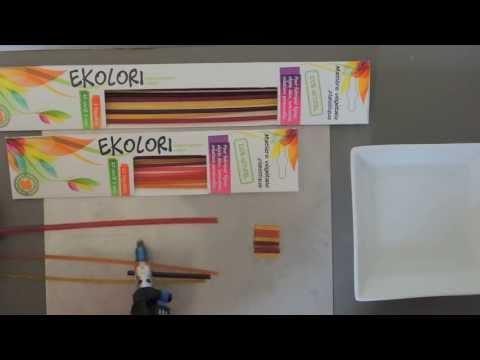 EKOLORI : thermocoller des baguettes de différents diamètres