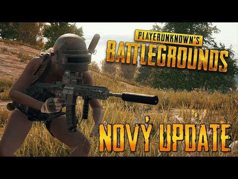 NOVÝ OBROVSKÝ UPDATE!! - Battlegrounds