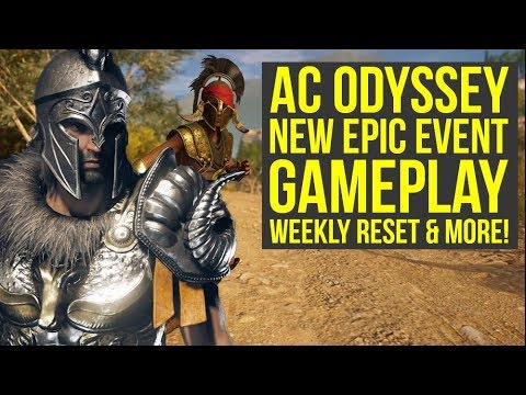 Assassin's Creed Odyssey Checking Out All The New Stuff (Weekly Reset February 5th)