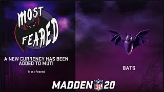 How To Get Bats Currency + Most Feared MUT Rewards Pack Opening