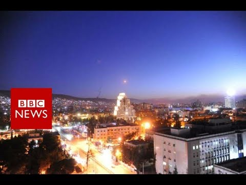 Syria Air Strikes: US And Allies Attack Chemical Weapons Sites - BBC News Mp3