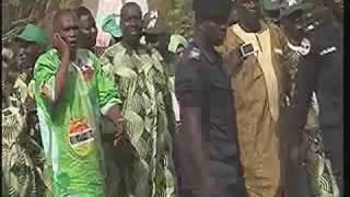 H.E. President Jammeh Files in his Nomination Papers for the 1st. December 2016 Presidential Election part1