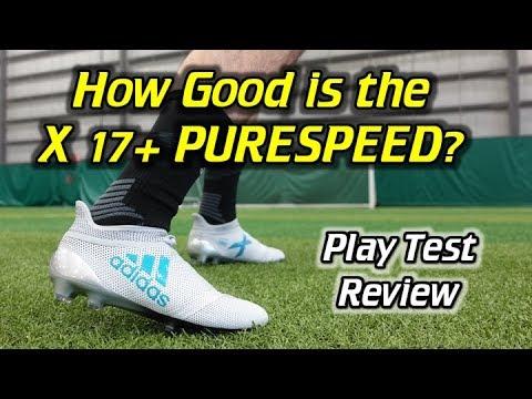Adidas X 17+ PURESPEED Play Test + Free Kicks – Review