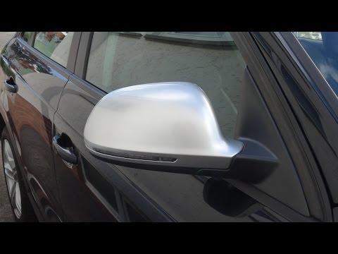 Audi Q3 Spiegelkappe tauschen Blinker tauschen RS / replace Mirror Cap