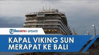 Ditolak di Surabaya dan Semarang, Kapal Viking Sun yang Bawa Ratusan WNA Merapat ke Bali