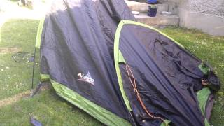 How to pitch a vango tent