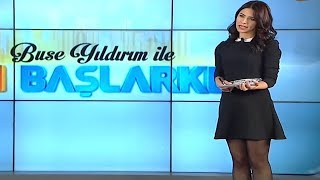 Buse Yıldırım Tv Presenter From Turkey 02.03.2016
