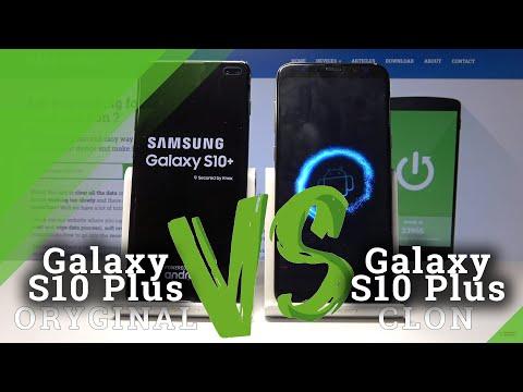 SAMSUNG Galaxy S10 Plus vs Clone Galaxy S10 Plus - Identify Fake Galaxy S10 Plus / Is S10 Original?