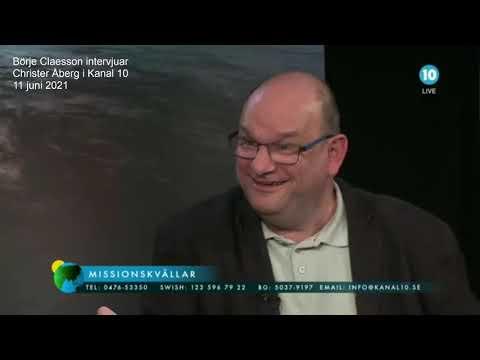 Kanal 10 intervjuar Christer Åberg