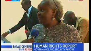 KNCHR releases report of state of Kenya's Human Right activities