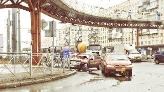 20.03.2019, ДТП на перекрестке пр.Славы и ул.Будапештской