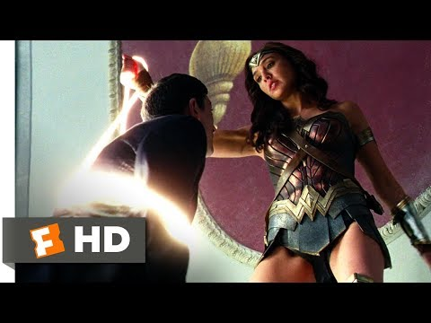 Justice League (2017) - Wonder Woman Saves London Scene (1/10) | Movieclips