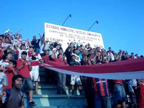 """""""Es un Sentimiento"""" Barra: La Banda Cementera • Club: Unión La Calera"""