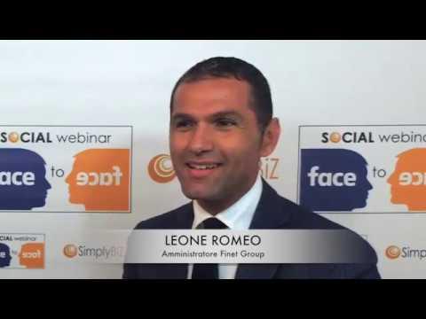 Face to Face con Leone Romeo, amministratore Finet Group