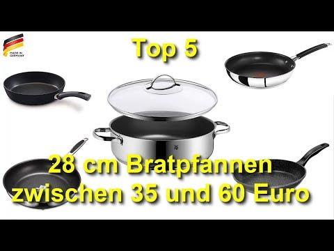 Die 5 besten 28 cm Bratpfannen 2018 zwischen 35 und 60 Euro