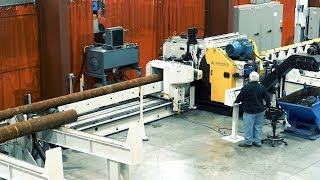 AMS-350SR Carbide Saw System Overview and Test Cut