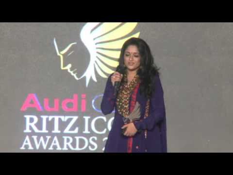Kavya Madhavan - AUDI RITZ ICON AWARDS (Chennai Edition) - 2014