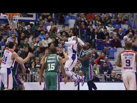 Highlights: Unicaja Malaga-CSKA Moscow