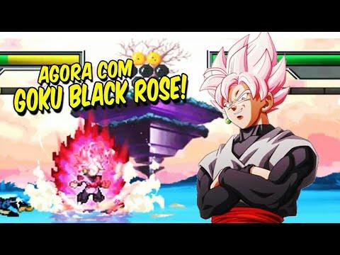 INCRÍVEL! NOVO Z CHAMPIONS MODIFICADO ATUALIZADO COM GOKU BLACK ROSE!