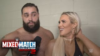 Lana convinces Rusev to sing country western after WWE MMC