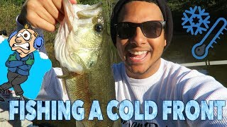 Bass Fishing in 39 Degree Weather