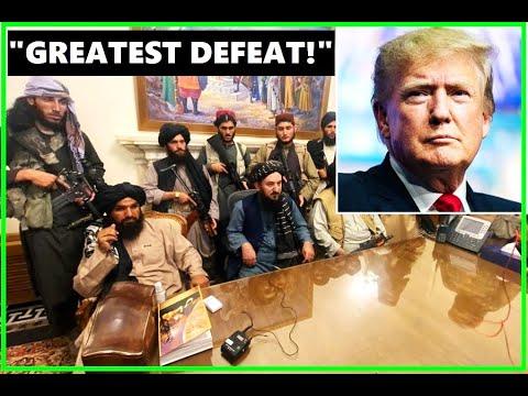 'RESIGN IN DISGRACE!': Trump Hits Biden On Afghanistan