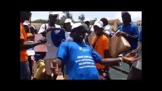 Une belle chanson sur la campagne Summertour fagaruJotna à Gorée