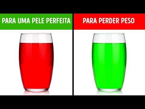 5 Bebidas saudáveis que você pode fazer em um minuto