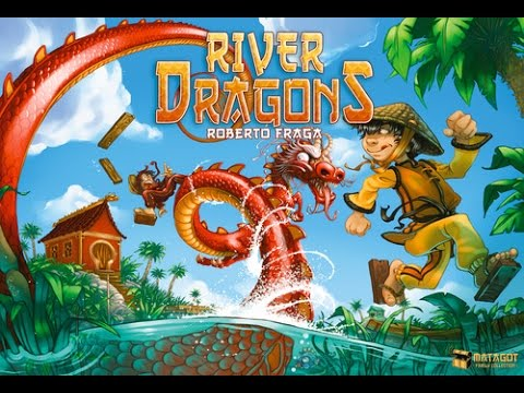 The Purge: # 981 River Dragons: A broken game due to the components, but boy! does it look good!
