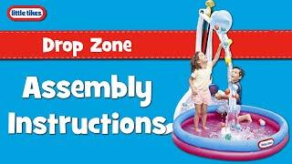 Pripučiamas vandens žaidimų baseinas su pramogomis | Little Tikes 645808M
