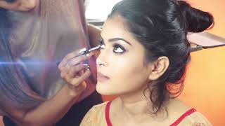 Indian Bride Makeup & Hair | Complete Makeover | Beautiful Bride - Download this Video in MP3, M4A, WEBM, MP4, 3GP