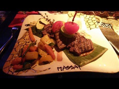 """Massai Berlin - afrikanisches Essen im Restaurant Vegetarisches 3 Gänge Menü """"Mama Afrika"""""""